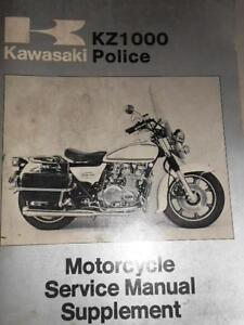 kawasaki service manual supplement 1978 kz1000 c1a 37pgs w. Black Bedroom Furniture Sets. Home Design Ideas