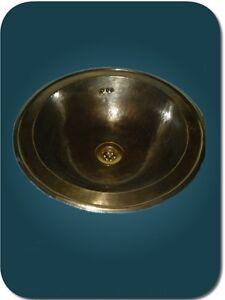 vasque marocaine en cuivre patine bronze evier maroc. Black Bedroom Furniture Sets. Home Design Ideas