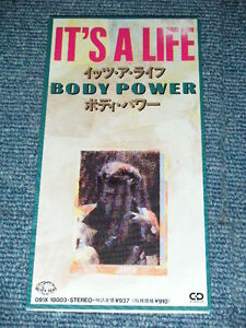 BODY-POWER-Japan-1989-Tall-3-inch-CD-Single-ITS-A-LIFE