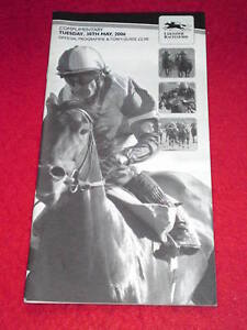 HORSE-RACING-PROGRAMME-LEICESTER-May-30-2006