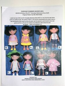 NG Creations Sewing Pattern Summer Outfits fits 8