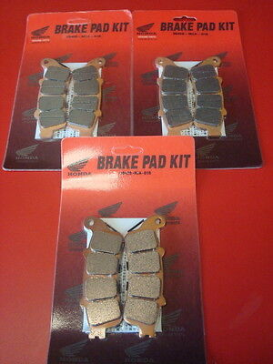 Honda Front And Rear Brakes For Honda Goldwing Gl1800 For All Years