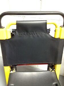 Stryker 6252 Stair Chair Replacement SOFT Vinyl Backrest