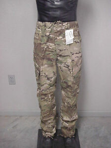 ARMY-MULTICAM-FLAME-RESISTANT-INSECT-GUARD-COMBAT-UNIFORM-TROUSER-NEW-S-R