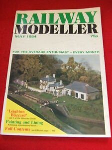 RAILWAY-MODELLER-LEIGHTON-BUZZARD-May-1984-Vol-45-403