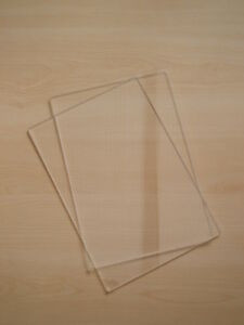 PAIR OF CUTTING PLATES EMBOSSING PADS/MATS COMPATIBLE B PLATES CUTTLEBUG MACHINE