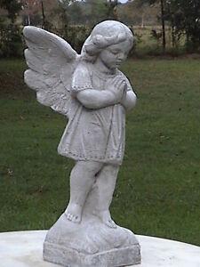 Large Praying Angel Girl 034 Evelina 034 Cement Concrete