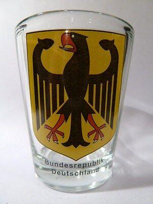 Germany Coat Of Arms Shot Glass Shotglass