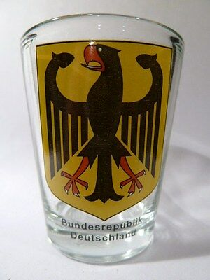 Germany Coat Of Arms Shot Glass Shotglass