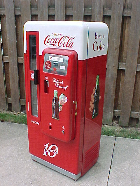 cavalier 72 coke machine for sale