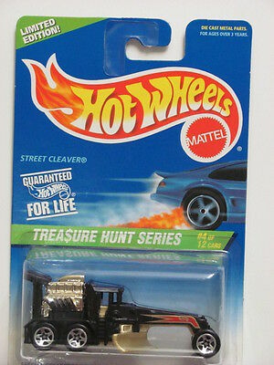 Hot Wheels 1997 Treasure Hunt Street Cleaver 581