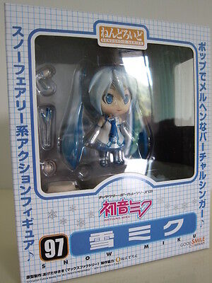 Miku Hatsune Snow Version Nendoroid Series Face Changeable Figure Set New w/ Box on Rummage