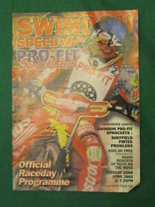 SPEEDWAY-Swindon-v-Sheffield-22-April-2003