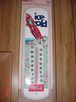 """Coca Cola""""Ice Cold"""" Thermometer"""
