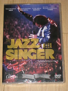 The Jazz Singer DVD- Laurence Olivier  Neil Diamond(R0)