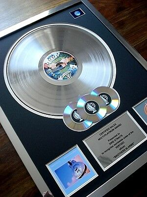 DIRE STRAITS BROTHERS IN ARMS MULTI PLATINUM DISC RECORD AWARD ALBUM