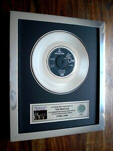 THE-BEATLES-I-FEEL-FINE-PLATINUM-DISC-7-SINGLE-RECORD-AWARD