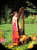 Professional Harpist Available for Weddings and Events