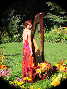 Professional Harpist Available for Weddings and Events Kingston Kingston Area image 1