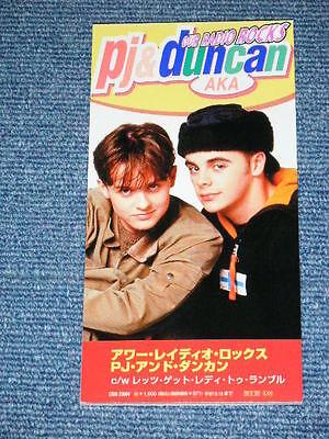 "PJ & DUNCAN AKA Japan 1985 Tall 3"" inch CD Single OUR RADIO ROCKS"