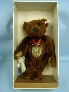Steiff-1994-Louis-Teddy-Bear-44-EAN-650789-MIB-With-Certificate