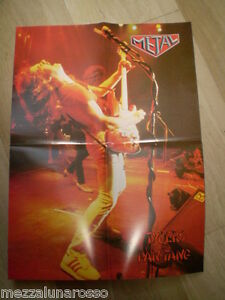 TYGERS-OF-PAN-TANG-POSTER-Dall-039-Hard-all-039-Heavy-Metal
