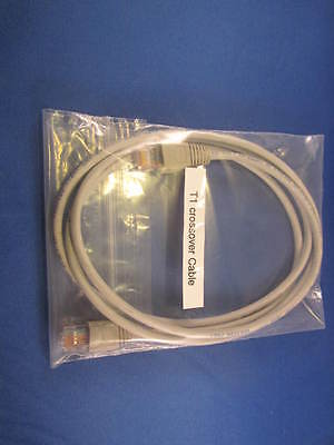 7 Ft Back To Back Cisco T1/e1 Wic1-dsu-t1 Crossover Cable.