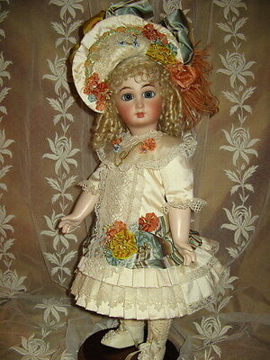 "18""  FRENCH DOLL DRESS PATTERN ANTIQUE STYLE~ CHARLOTTE"