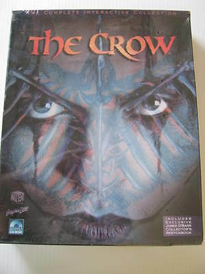 THE CROW BRANDON LEE computer game Never Opened Bruce Lee Vintage Collectible