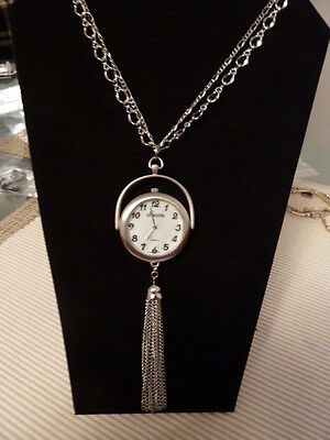 Chico's 27  Joanne Watch Necklace