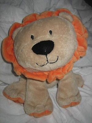 CARTER'S JUST ONE YEAR TAN ORANGE LION LOVEY PLUSH TOY BABY on Rummage