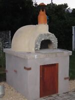 Outdoor Pizza Ovens & Pizza Oven Kits, Brick, Clay, Wood Fired