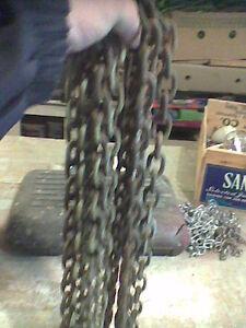 chains 40 feet  $ 1,00  a foot  /