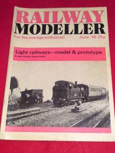 RAILWAY-MODELLER-June-1976-Vol-27-308-LIGHT-RAILWAYS