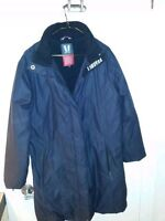Manteau hiver VUARNET noir- Black VUARNET winter coat North Face