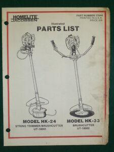 HOMELITE-HK-24-HK-33-TRIMMER-BRUSHCUTTER-PARTS-MANUAL-17844