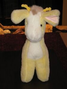 Plush Baby Gund Yellow Giraffe