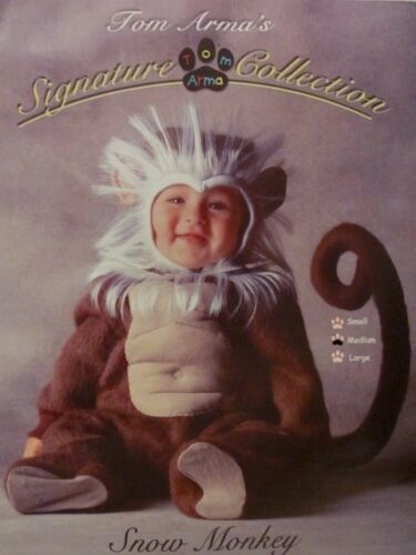 Tom Arma Signature Collection Snow Monkey Costume 12-18 Mo In Package