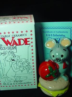 """WADE DIXIE MOUSE HANNA BARBERA 5"""" TALL 1997 Ltd ed MINT BOXED CERT ref 2f"""