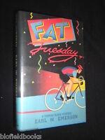 Signed Copy: Earl W Emerson - Fat Tuesday - 1987-1st - Thomas Black Mystery Hbdj -  - ebay.co.uk