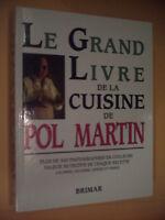 livres de cuisine de Pol Martin et autres