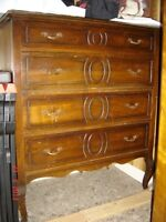Antique Adorned Dresser