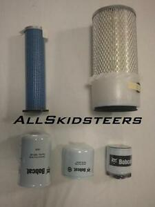 Bobcat Filter Kit Maintenance S130 S150 S160 S175 S185 S205 skid steer hydro IL