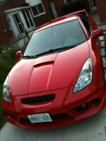 2002 Toyota Celica GT-S Panasonic Edition parts out