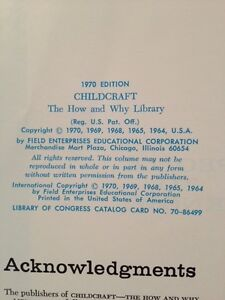 "CHILDCRAFT ""The How and Why Library"" 15 Volume Set 1970 Edition West Island Greater Montréal image 3"