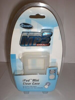I-concepts Mp3 Gear Ipod Mini Clear Case Fits Ipod Mini Players