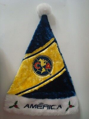 Club America Soccer Santa Hat Mexico FMF- Official Licensed Size-OSFA