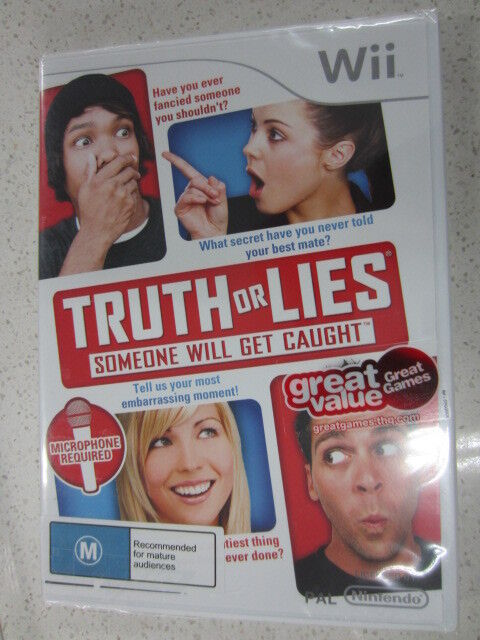 Truth Or Lies  Wii NEW (M)