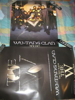 WU TANG CLAN-THE W-24X36 POSTER-2 SIDED-NMINT-RARE