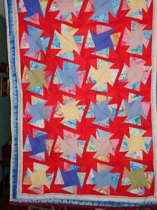 Quilts, Home Made, Titled Barcarole